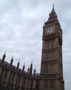 Fotografia Big Ben Londýn