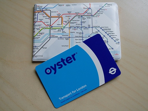 oyster card photo