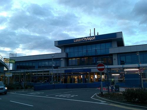 london city airport photo