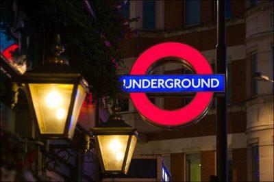 Londýnske metro