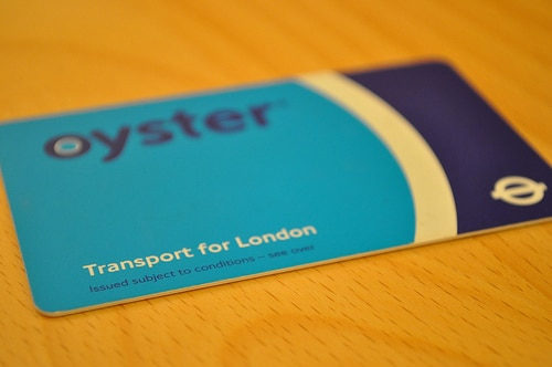 Oyster Card a Visitor Oyster Card