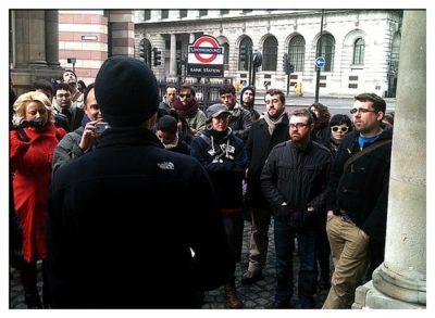 Londýnske walking tours