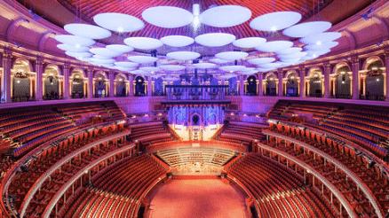 Royal Albert Hall interiér